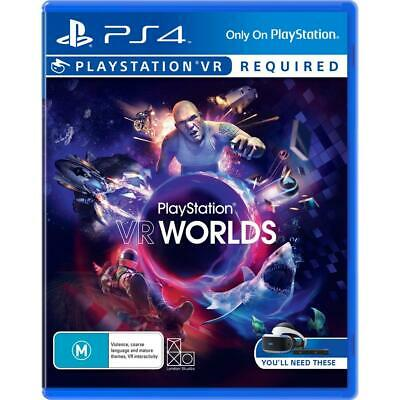AU17.95 • Buy PlayStation VR Worlds PS4 (Sony PlayStation 4) Brand New