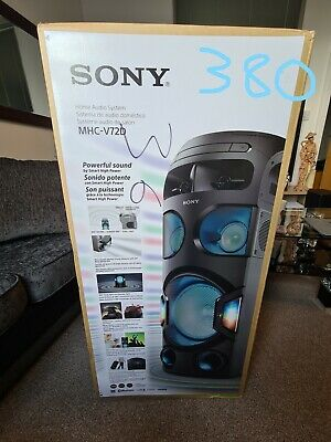 NEW***Sony MHC-V72D Music Audio System Powerful Sound Bluetooth Speaker Home  • 370£