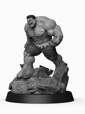 Marvel Hulk Resin Model Kit Miniature Diorama Figure 75mm-125mm • 24.99£