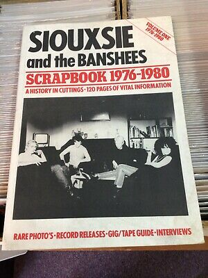 Siouxsie And The Banshees Scrapbook Volume One 1976-1980 Softcover Book  • 60.80£