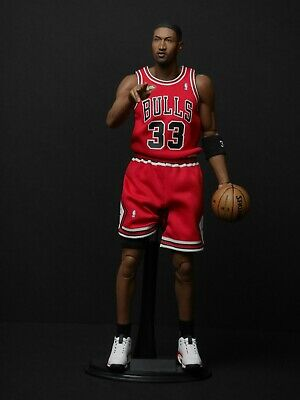 $600 • Buy ENTERBAY 1/6 Scale Real Masterpiece NBA Collection Scottie Pippen Figure