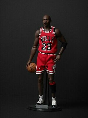 $800 • Buy ENTERBAY 1:6 Real Masterpiece NBA Collection Michael Jordan Figure RED JERSEY
