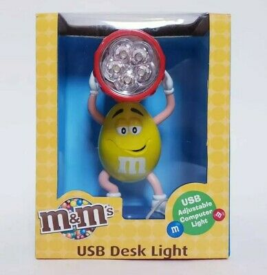 $26.94 • Buy M&Ms USB Desk Light M M Candy New In Box Collectible Gift M N M