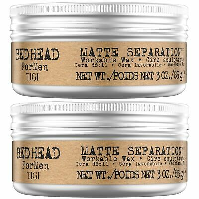 Bed Head For Men By TIGI Matte Separation Mens Firm Hold Hair Wax, 85 G, Pack... • 38.69£