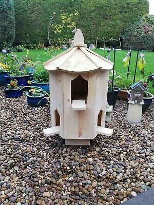 Dovecote Six Sided Garden Dovecote Large Bird House  Box Dove House  • 129£