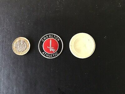 ESSO FOIL FOOTBALL CLUB BADGE CHARLTON ATHLETIC 1970s Unused  NOT A PIN BADGE • 1.99£