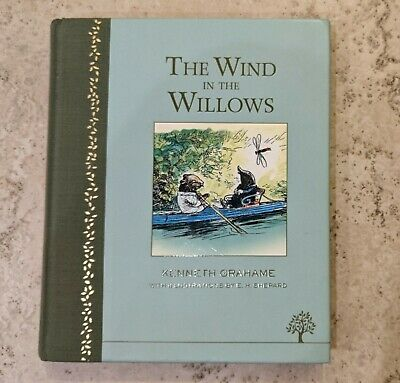 The Wind In The Willows Illustrated Hardback • 9.99£