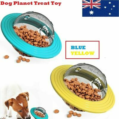 AU23.85 • Buy Dog Planet Treat Toy Tumbler Puzzle Interactive Leak Pet Slow Feeder Food Toy