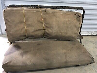 $150 • Buy M151 Mutt Back Seat Frame And Cushions