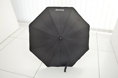 Icandy Peach Black Parasol With Clamp • 17.99£