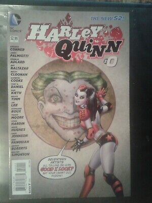 $ CDN15.71 • Buy HARLEY QUINN #0  NEW 52  Amanda Conner & Palmiotti  DC  First Print