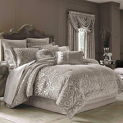 $ CDN349.46 • Buy J. Queen New York Sicily California King 4-Piece Comforter Set In Pearl