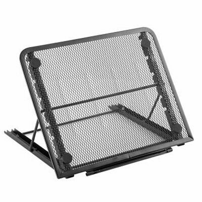 Adjustable Laptop Stand Folding Mesh Tablet Holder Tray Portable Office Support • 9.97£