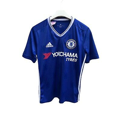 Adidas Chelsea Home 2016 - 2017 Football Shirt Soccer Jersey Kit Adults S - XS • 14£