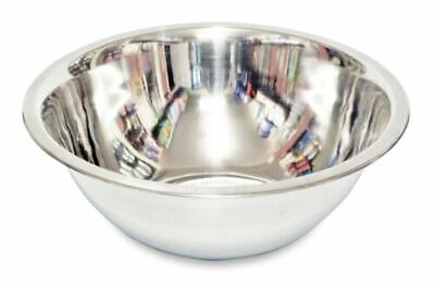 £6.99 • Buy Deep Mixing Bowl Cooking Baking Stainless Steel Bowl Flat Base Different Sizes