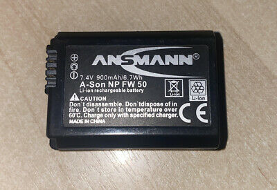 Ansmann NP-FW50 Lithium-ion Battery • 5£