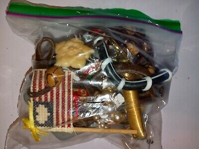 $ CDN17.17 • Buy Costume Jewelry Lot- UNSEARCHED, UNTESTED, Vintage To New Estate Bag/Box 270 Gms