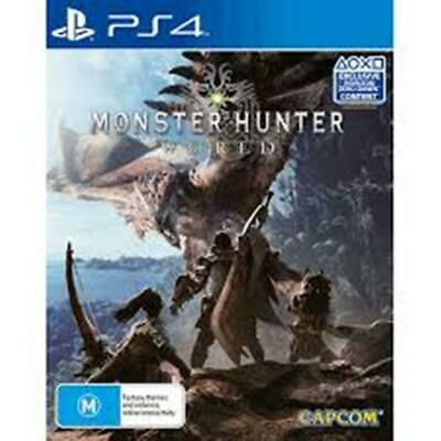 AU24.99 • Buy Monster Hunter World Playstation Hits PS4 VERY GOOD! FREE POST!