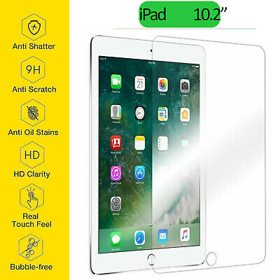 AU10.90 • Buy For Apple IPad  8th 7th Gen HD Clear 9H Tempered Glass Screen Protector 10.2  AU