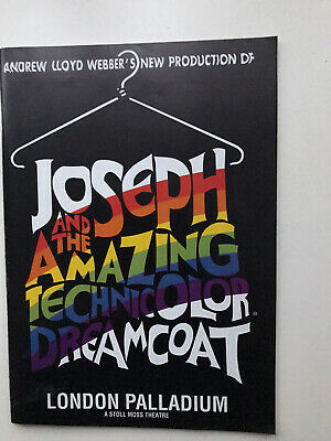£4.95 • Buy JOSEPH AND THE AMAZING TECHNICOLOR DREAMCOAT Musical Theatre Programme SCHOFIELD
