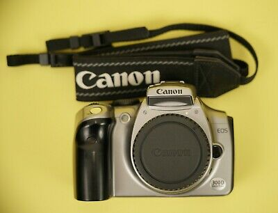 £55 • Buy Canon EOS 300D DSLR Camera Body Silver - Working + Battery, Charger, Neck Strap