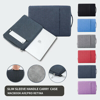 AU19.85 • Buy Slim Laptop Sleeve Handle Bag Carry Case 13  Inch For MacBook Air Pro Retina