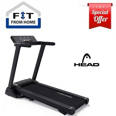 AU385 • Buy HEAD Fitness Electric Smart Treadmill Foldable Incline Running Home Gym IN STOCK