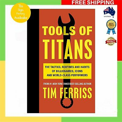 AU29.89 • Buy Tools Of Titans By Timothy Ferriss Paperback Book BRAND NEW FAST And FREE SHIPPI