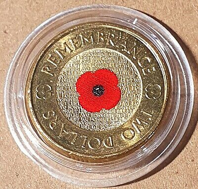 AU199 • Buy 2012 $2 Dollar Red Poppy Coin  - Uncirculated - From Royal Australian Mint Roll