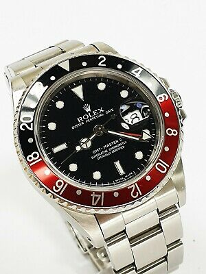 $ CDN16615.82 • Buy Rolex GMT Master 2 II -- Ref 16760 -- Fat Lady Coke