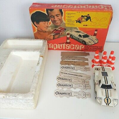 Vintage Computacar Ford GT40 By Mettoy Complete With Original Box • 21.99£