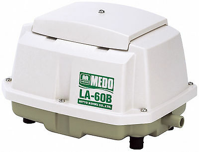 Nitto Medo Linear Air Pumps LA 60B, LA 80B, LA 100, LA 120 For Sewage Or Ponds • 178£