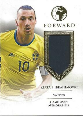 AU110.09 • Buy Zlatan Ibrahimovic 2019 Futera Forwards Game Used Jersey 18/27 Sweden LA Galaxy