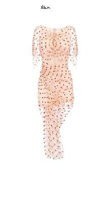 AU190 • Buy Alice Mccall Stardust Midi Dress In Clay Size 10 RRP $425
