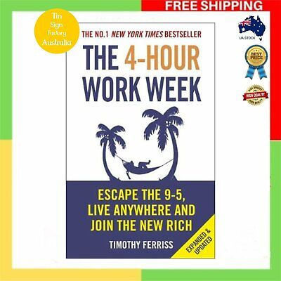 AU29.95 • Buy The 4 Hour Work Week Tim Ferriss Paperback Book Four 9 5 Escape | Free Shipping