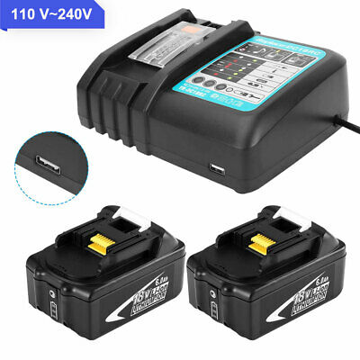 AU28.58 • Buy 18V 6.0AH LXT Battery Or Charger For Makita BL1830 BL1840 BL1850 Cordless Tools