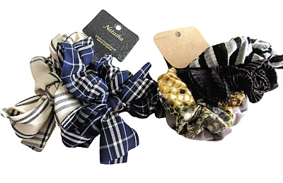 $ CDN15.81 • Buy Lot Of Hair Accessories Natasha And Berry Fabric Hair Ties 6 Total