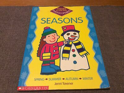 £4 • Buy Themes For Early Years Photocopiable - Seasons - Age 3-5 Topic Worksheets