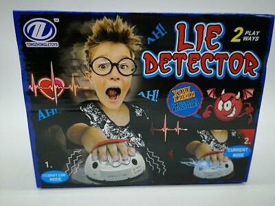 £14.16 • Buy Lie Detector Game Toys Safety Electric Shock Polygraph Adult Lie Truth Test US