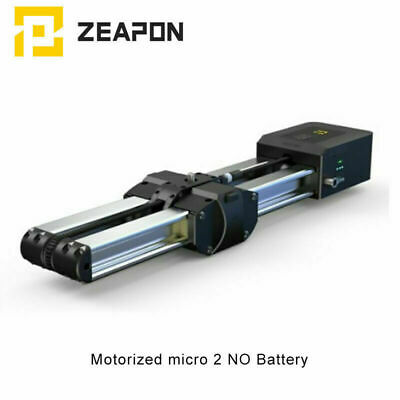 ZEAPON Micro2 Motorized Camera Slider Double Distance Parallel For DSLR Camera • 309£