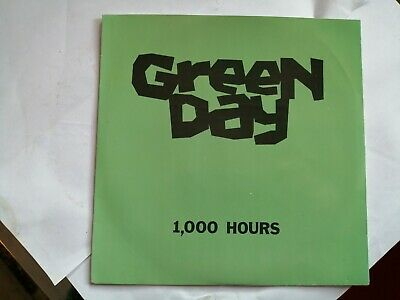 Green Day 1000 Hours 7  Black Vinyl 1991 Lookout! Records #17 Great Condition  • 29.99£