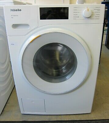 View Details Miele W1 WSD123 8Kg Washing Machine With 1400 Rpm - White - A+++ Rated  (4709) • 549.00£