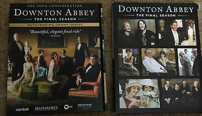 Downtown Abbey FYC DVD 8th Final Season 3-discs For Your Consideration • 13.02£