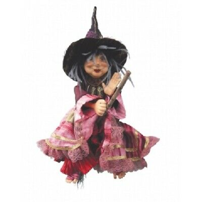 Witches Of Pendle *jennet Device  Burgundy Flying  Witch Info Book Pagan/ Occult • 32.95£