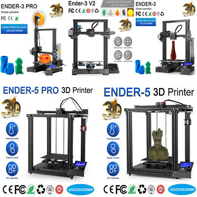 AU269 • Buy Creality Ender 3/3V2/3Pro Ender 5/5Pro DIY 3D Printer Kit FDM With Free Filament