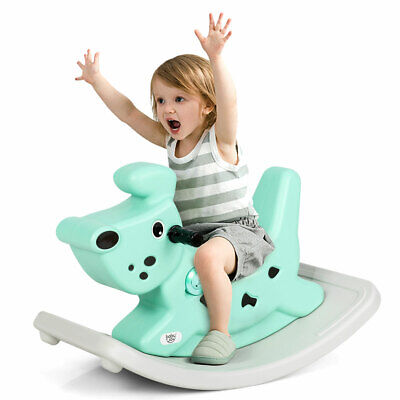 £39.95 • Buy Kids Toy Rocking Horse Baby Ride On Toy Toddler With Music&lights Gift Green
