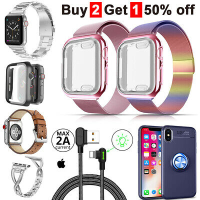 AU14.99 • Buy For Apple Watch IWatch SE/65432 Silicone Replacement Strap Band 38/40mm 42/44mm