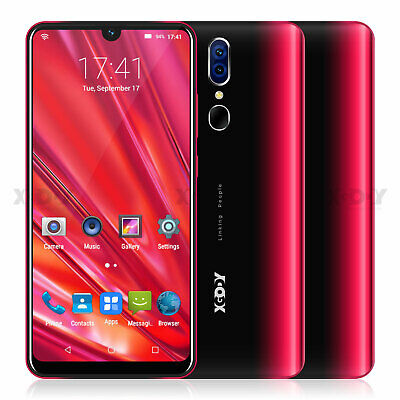 AU95.34 • Buy 16GB 6.3  Unlocked Smartphone Android 9.0 Mobile Phones Dual SIM Quad Core Cheap