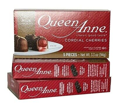 $11.99 • Buy Queen Anne Milk Chocolate Cordial Cherries, 3 Packs, Product Of The USA