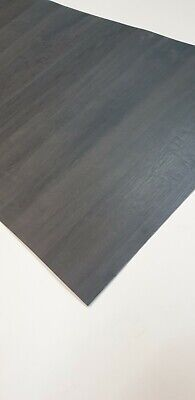Anthracite Oak Laminate Sheet 2000mm By 650mm Egger , Formica , Deep Wood Grains • 29.99£